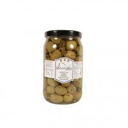 Olivy Gordal plněné jalapeňos 1,9Kg - Vegatoro