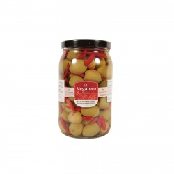 Olivy Gordal plněné piri-piri 1,9Kg - Vegatoro