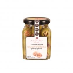 Olivy Gordal karamelizované plněné vlašským ořechem 300g -Vegatoro