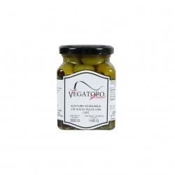 Olivy Hojiblanca karamelizované s kávou 300g - Vegatoro