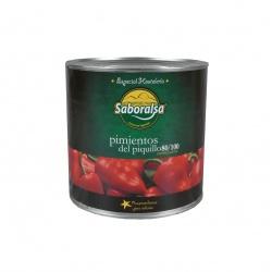 Červená paprika celá Piquillo 2500g
