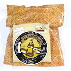 Ovčí sýr Manchego z nepasterizovaného mléka 100g - Hecho a Mano
