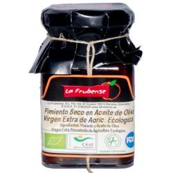 BIO sušené papriky v olivovém oleji 150g - La Frubense