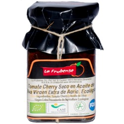 BIO sušená cherry rajčata v olivovém oleji 150g - La Frubense