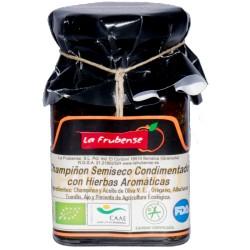 žampióny polosušené v olivovém oleji