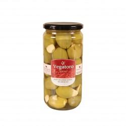 Olivy Gordal plněné česnekem 720g - Vegatoro