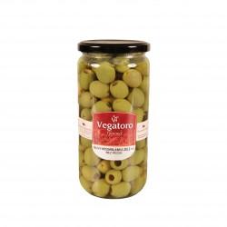 Olivy Hojiblanca bez pecky 720g - Vegatoro