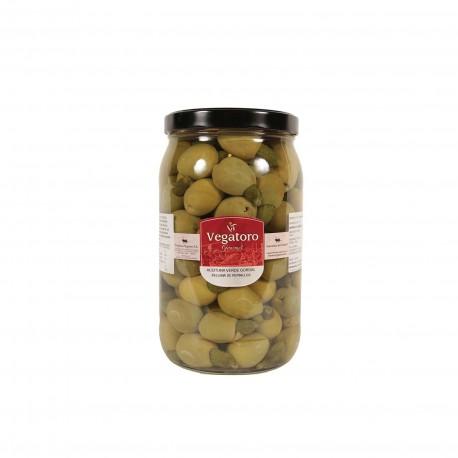 Olivy Gordal plněné baby okurkou 1,9Kg