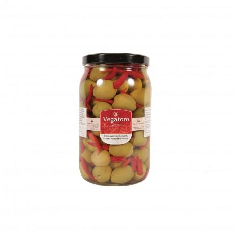 Olivy Gordal plněné piri-piri 1,9Kg