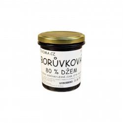 Borůvkový džem 220g Ovoma - 80 % ovoce
