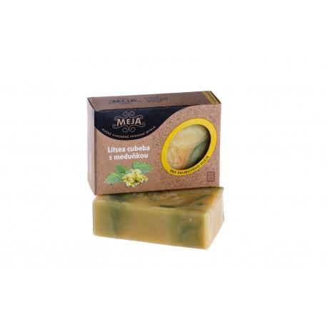 Mýdlo MEJA - litsea cubeba s meduňkou