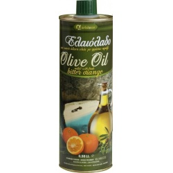 Extra panenský olivový olej s červeným pomerančem_plechovka 0,5L - Aristeon