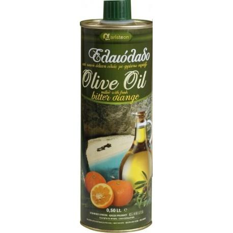 Olivový olej s červeným pomerančem 500ml - Aristeon
